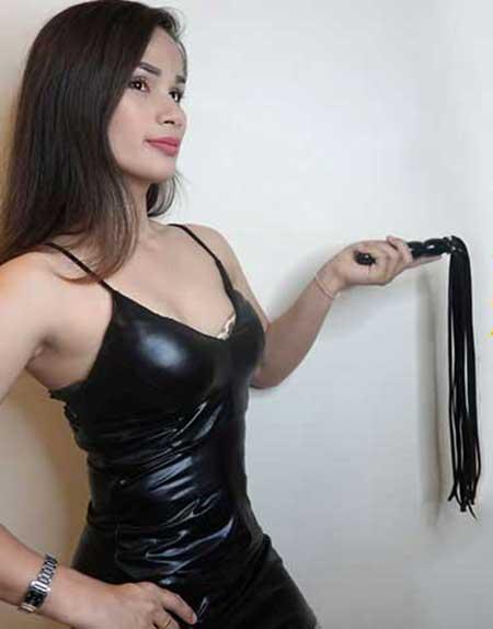 Ladyboy Mistress Arita Bangkok Femdom BDSM