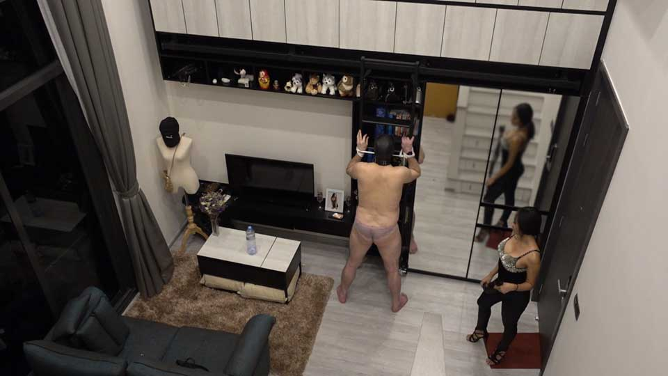 whipping caning slave femdom