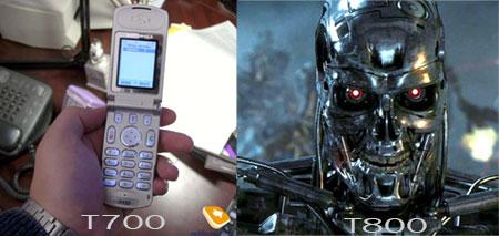 t800 terminator vs t700 motorolla