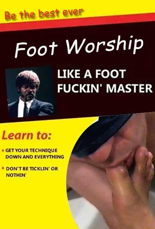 foot worship fucking master guide book