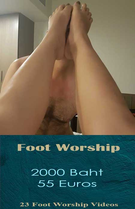 foot-worship femdom bdsm video package