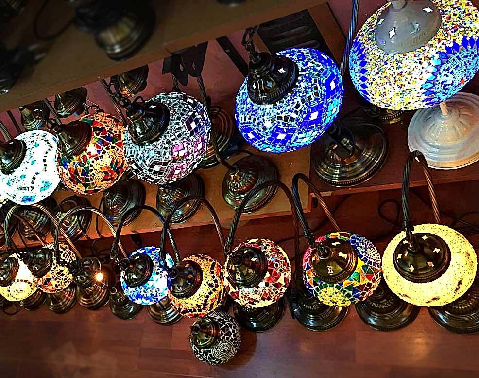 Turkey Lamps