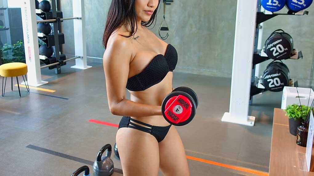 hot fitness mistress