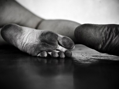 Sweaty Foot Worship | My 5 Minute Solution