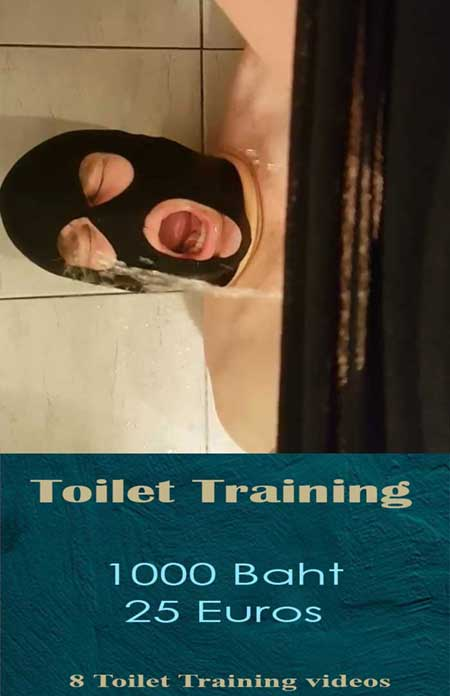 Toilet Training bdsm Video Package