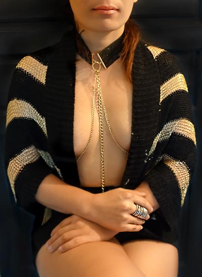mistress wael tease and denial necklace
